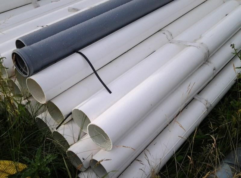 Зєднання труб зварюванням заливкою бетоном або з
