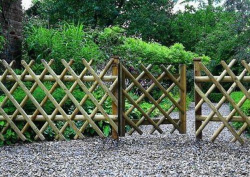 Забор из бамбука (рулонный) своими руками