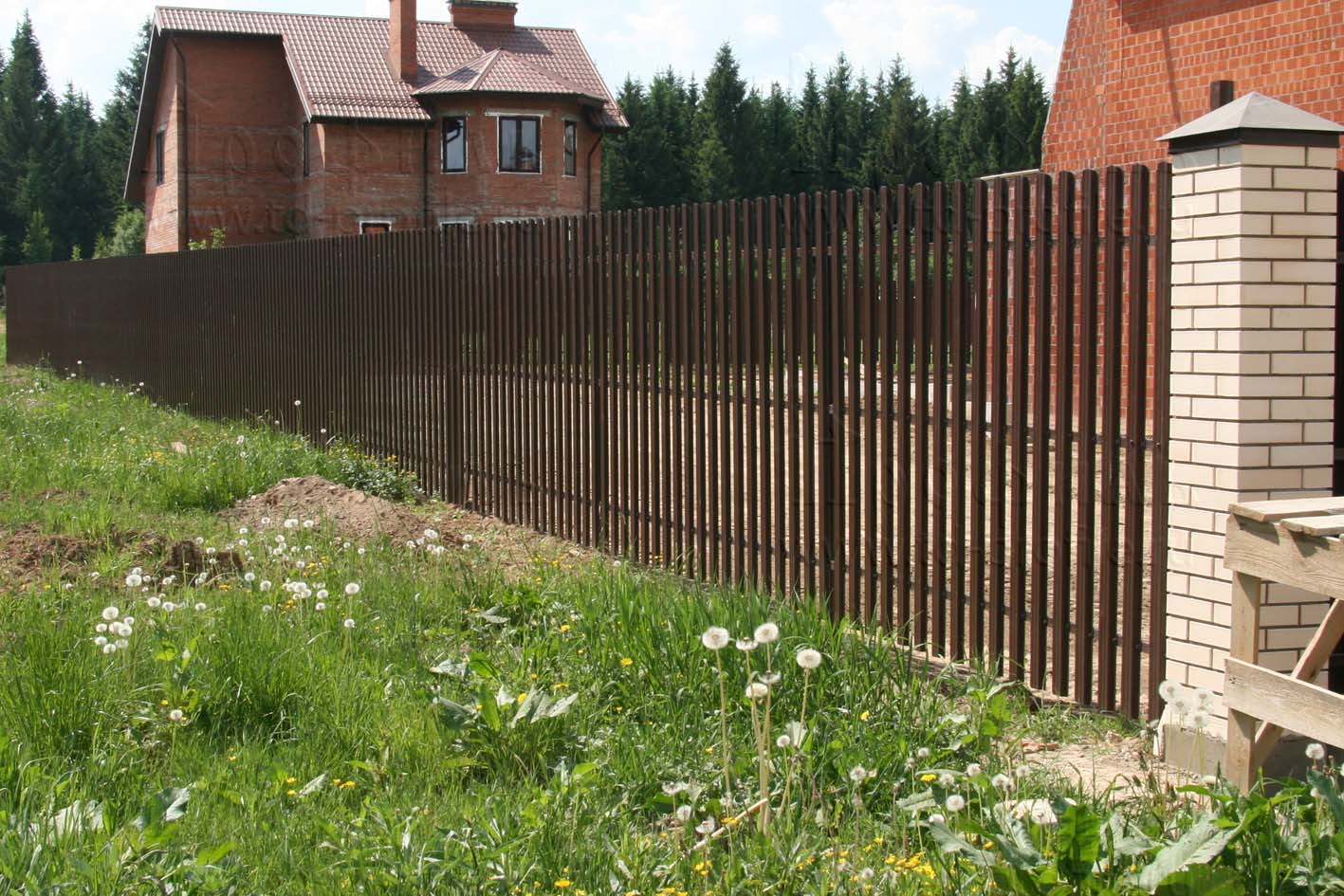 Решетчатый забор своими руками фото 381