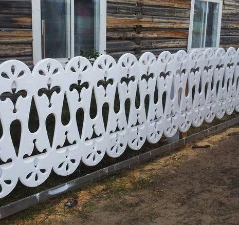 Резной забор из дерева своими руками: шаблоны, установка 69